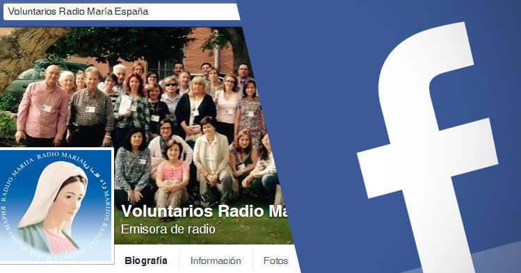 Página de Facebook de Voluntarios