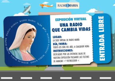 Exposición virtual Radio María