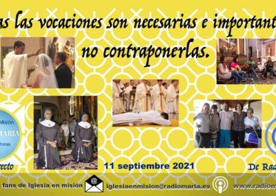 Iglesia en misión 11/09/21