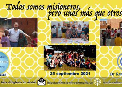 Iglesia en misión 25/09/21