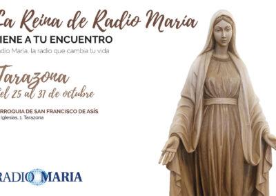 La Reina de Radio María visita Tarazona