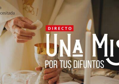 Santa Misa por el eterno descanso de los benefactores de Ayuda a la Iglesia Necesitada